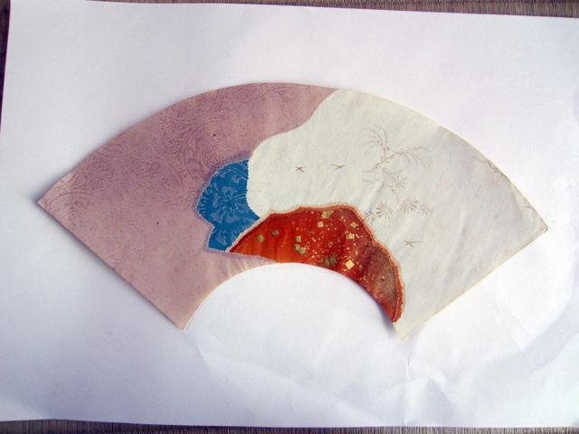 扇面継ぎ紙